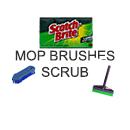 Mops Brushes Scrubs