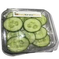 Chopped slice Cucumber