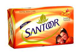 Santoor Sandal and Turmeric Soap