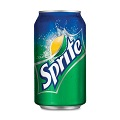 Sprite Soft Drink Lime Can
