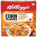 Kelloggs Corn Flakes With Real Almond  Honey