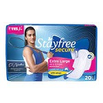 STAYFREE Secure XL Cottony Soft With Wings