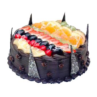 Truffle Fruit Cake