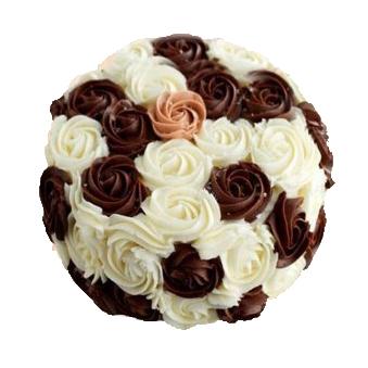 Flower Vanila Cake
