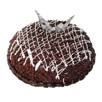 Dark Choco Chips Truffle Cake