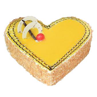Heart Shape Butter skootch