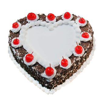 Red Topping Black Forest