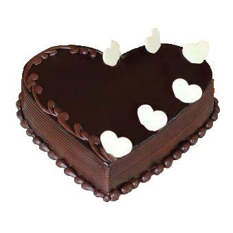 Heart Flicker Choco Truffle Cake