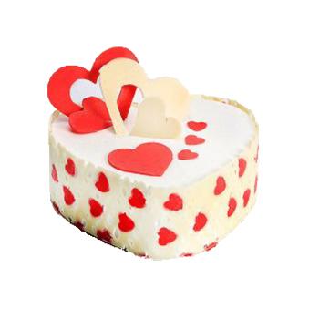 Retro Vanilla cake