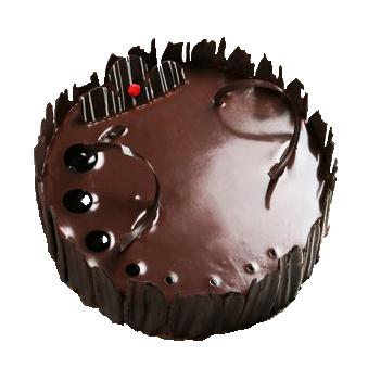 Melty Truffle Hot Chocolate Cake