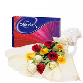 Mix flower With Celebration pack
