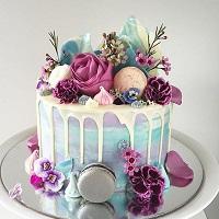 Exotic Love shine Cake