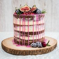 Exotic Drip Cake